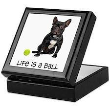 French Bulldog Life Keepsake Box