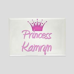 Princess Kamryn Rectangle Magnet