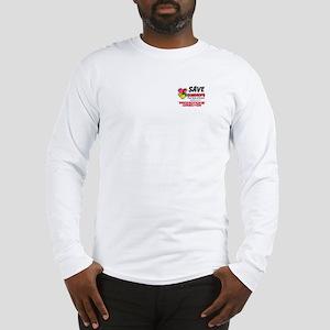 SaveGum-Back-PocketPD Long Sleeve T-Shirt