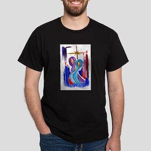 Nacimiento Iluminado Dark T-Shirt