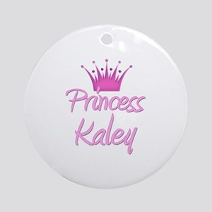 Princess Kaley Ornament (Round)
