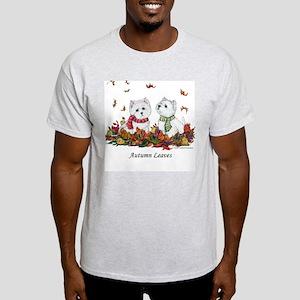 West Highland White Terrier Leaves Light T-Shirt