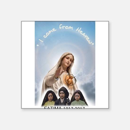 I come from Heaven Sticker