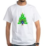Christmas and Hanukkah Interfaith White T-Shirt