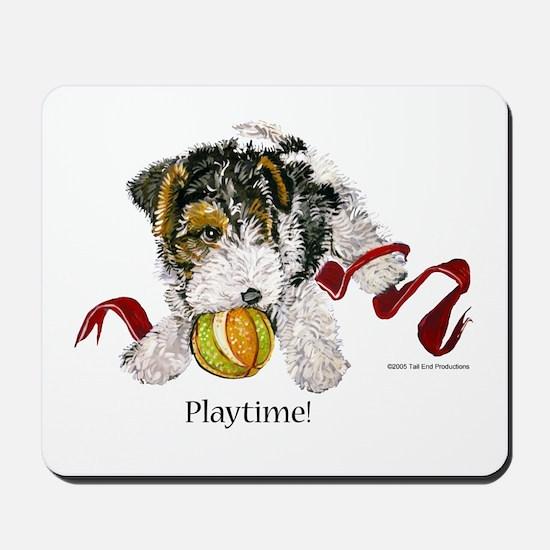 Fox Terrier Puppy Mousepad