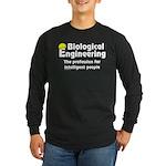 Smart Biological Engineer Long Sleeve Dark T-Shirt