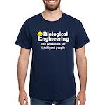 Smart Biological Engineer Dark T-Shirt