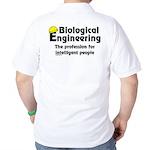 Smart Biological Engineer (Back) Golf Shirt
