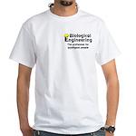 Smart Biological Engineer White T-Shirt