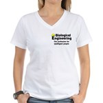 Smart Biological Engineer Women's V-Neck T-Shirt