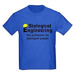 Smart Biological Engineer Kids Dark T-Shirt