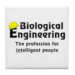 Smart Biological Engineer Tile Coaster