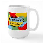Smart Biological Engineer Large Mug