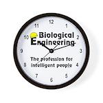 Smart Biological Engineer Wall Clock