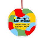 Smart Biological Engineer Ornament (Round)