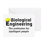 Smart Biological Engineer Greeting Cards (Pk of 20