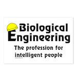 Smart Biological Engineer Postcards (Package of 8)