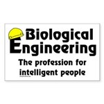 Biological Engineer Rectangle Sticker