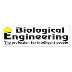 Smart Biological Engineer Bumper Sticker (50 pk)