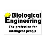 Smart Biological Engineer Mini Poster Print