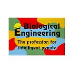 Biological Engineer Rectangle Magnet (100 pack)