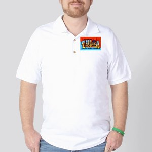 Tulsa Oklahoma Greetings Golf Shirt