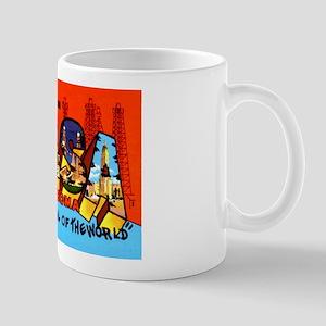 Tulsa Oklahoma Greetings Mug