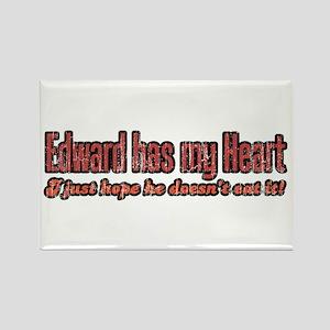 Twilight Edward Eat Me Rectangle Magnet