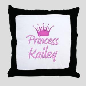 Princess Kailey Throw Pillow