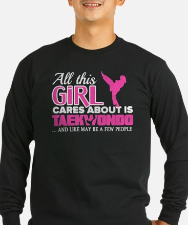 All This Girl Cares About Are Long Sleeve T-Shirt