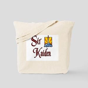 Sir Kaiden Tote Bag