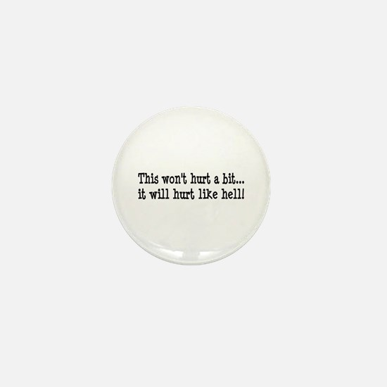 Nurse, Physical Therapist Mini Button