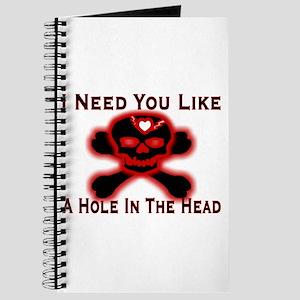 Need You Like A Hole Journal