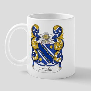 Amador Family Crest Mug