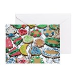 Xmas Cookie Greeting Cards (Pk of 10)