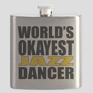 Worlds Okayest Jazz Flask