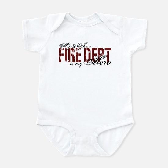 My Nephew My Hero - Fire Dept Infant Bodysuit