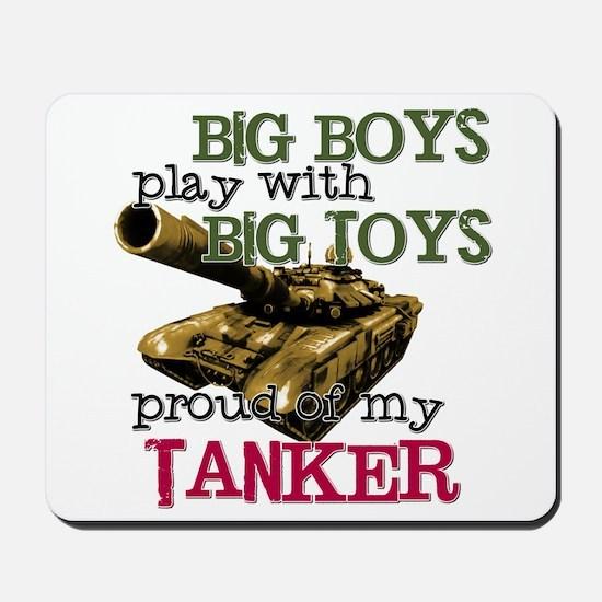 Big Boys Play with Big Toys Mousepad