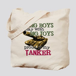 Big Boys Play with Big Toys Tote Bag