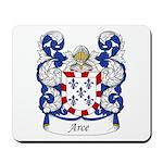 Arce Family Crest Mousepad