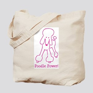 Poodle Power Tote Bag
