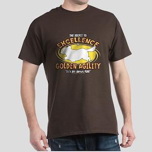 The Secret to Golden Agility Dark T-Shirt