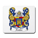 Avalos Family Crest Mousepad