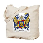 Avalos Family Crest Tote Bag