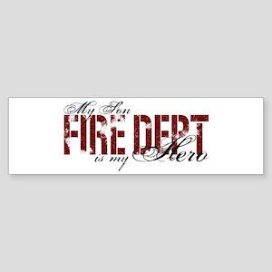 My Son My Hero - Fire Dept Bumper Sticker