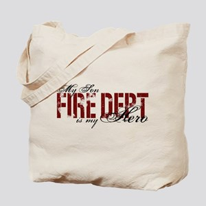 My Son My Hero - Fire Dept Tote Bag