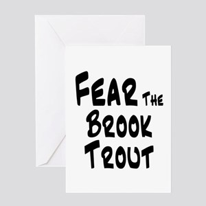 Fear the Brook Trout Greeting Card