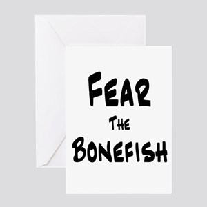 Fear the Bonefish Greeting Card