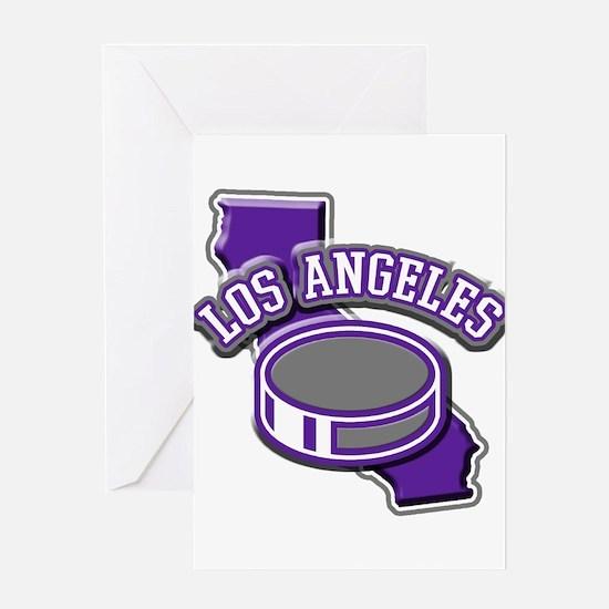 Los Angeles Hockey Greeting Card