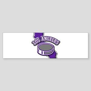 Los Angeles Hockey Bumper Sticker